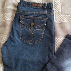 Calvin Klein dark wash jeans